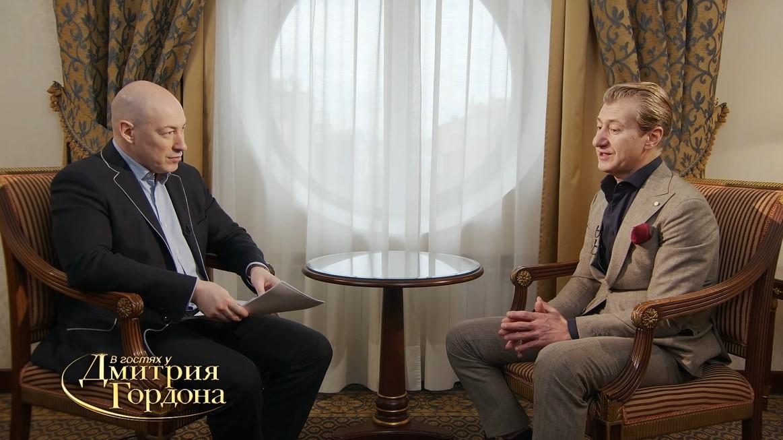 Юрій Нікітін на інтерв'ю у Дмитра Гордона