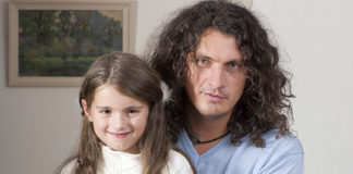 Кузьма Скрябін з донькою Марією-Барбарою