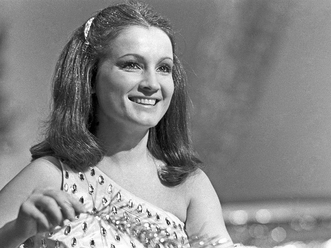 Софія Ротару в молодості на початку творчої кар'єри