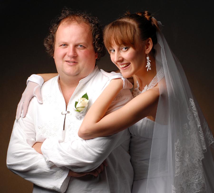 Віктор Бронюк та його дружина Тетяна