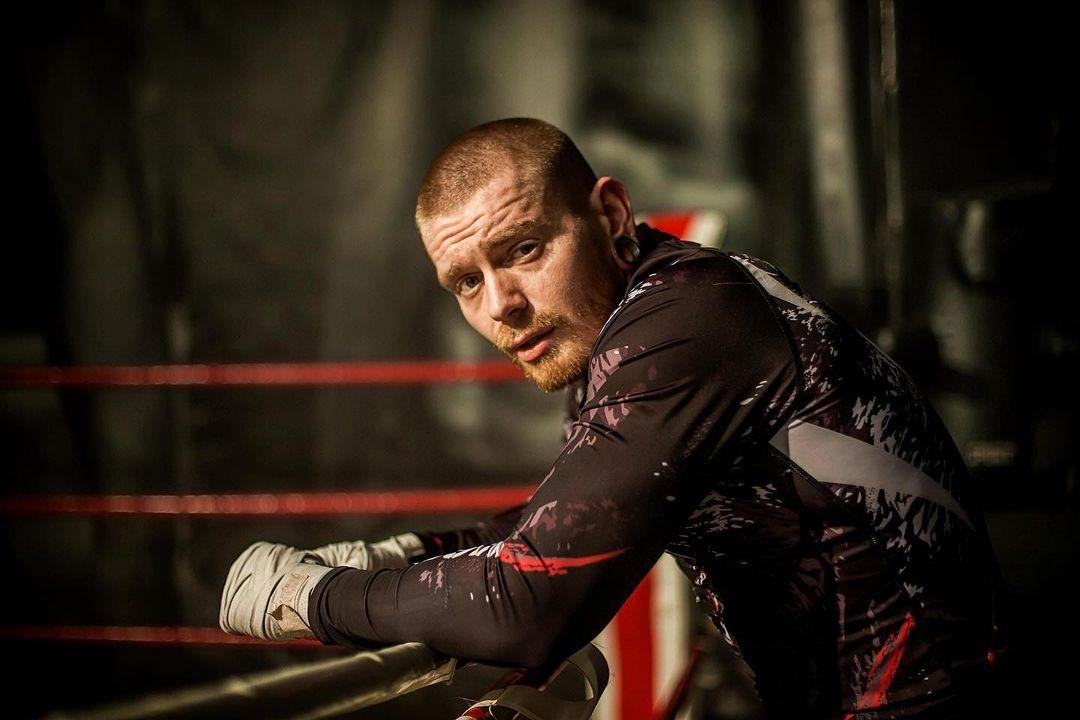 Олександр Кривошапко на боксерському ринзі