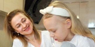 Ольга Мартиновська з дочкою Вірою