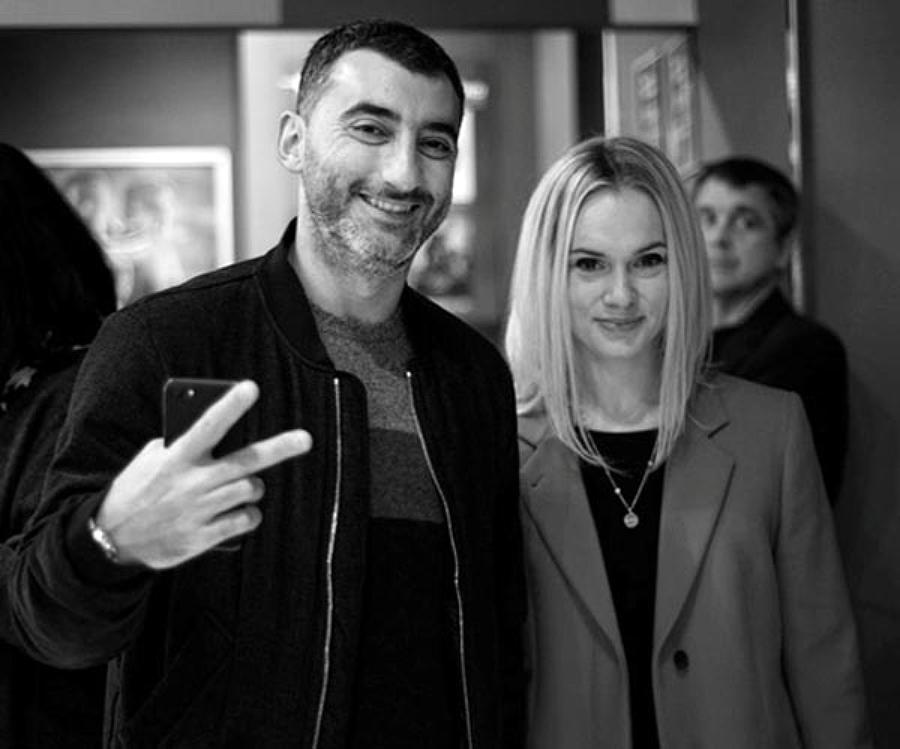 Міка Фаталов з дружиною