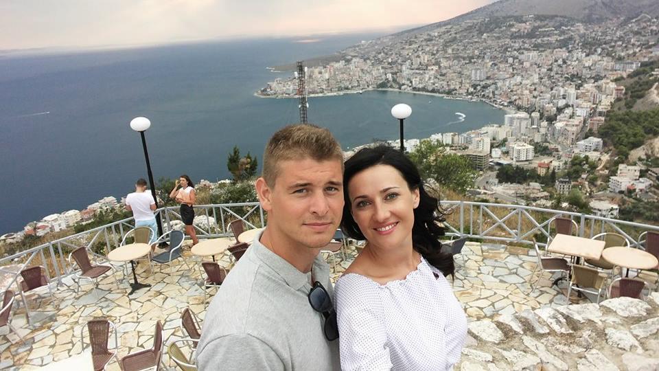 Соломія Вітвіцька і Влід КочетковРазом на вечірці