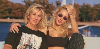 Світлана Лобода разом з мамою