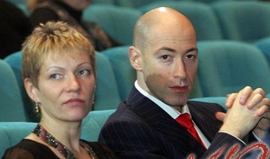 Дмитро Гордон та його перша дружина Олена Сербіна