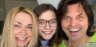 Ольга Сумська, Віталій Борисюк та їхня донька Анна