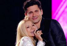 Дан Балан та його мама Людмила