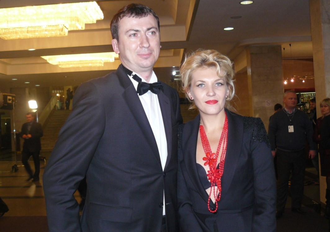 Валерій Жидков з дружиною
