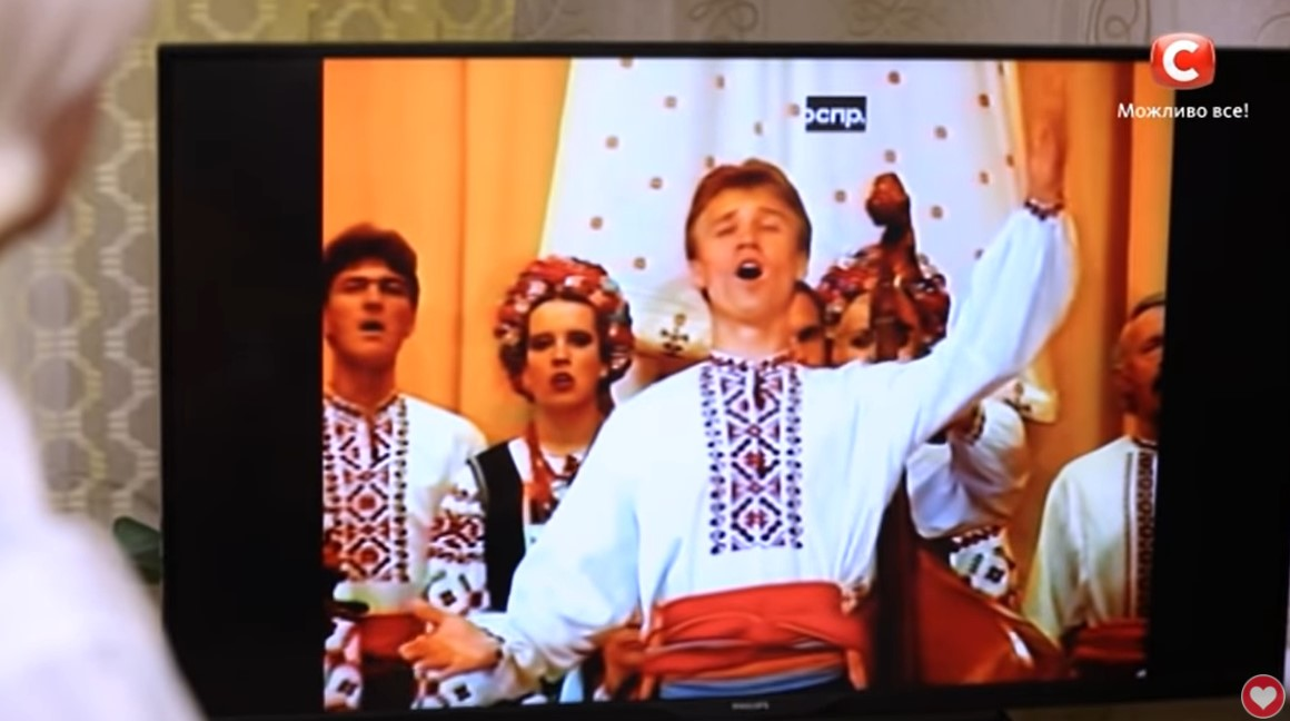 Олег Винник в складі Черкаського народного хору