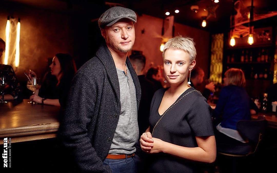 Андрій Хливнюк та його колишня дружина Анна Копилова