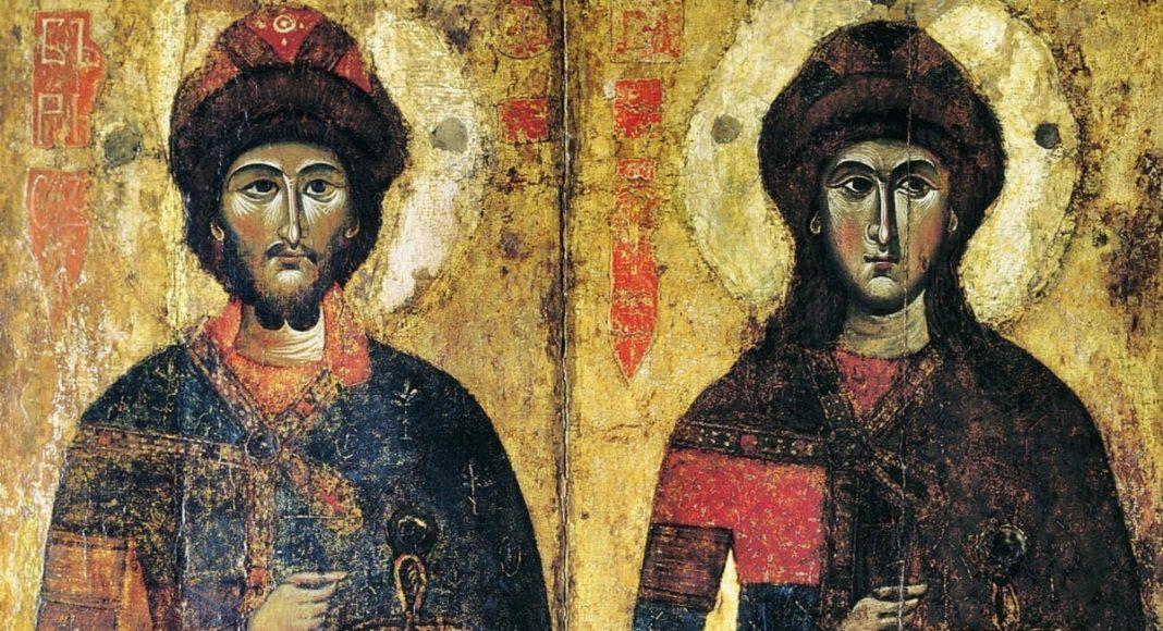 Святі Борис та Гліб
