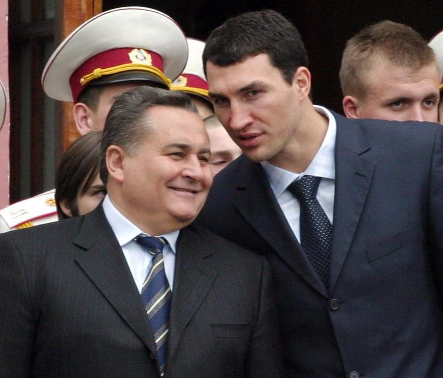 Євген Марчук і Володимир Кличко
