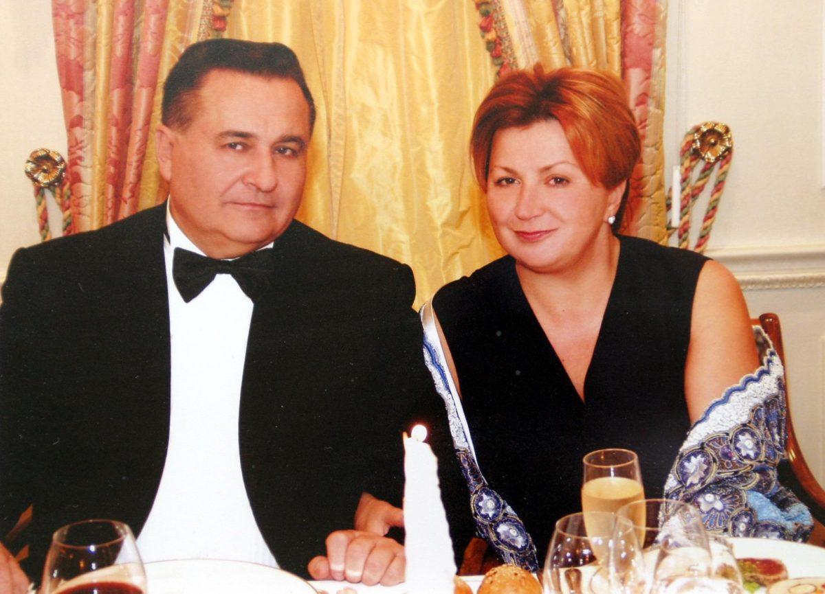 Євген Марчук з дружиною Ларисою Івшиною