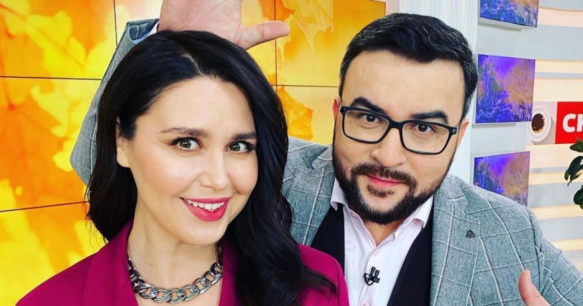Руслан Сенічкін і Людмила Барбір