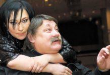 Олена Мозгова з батьком