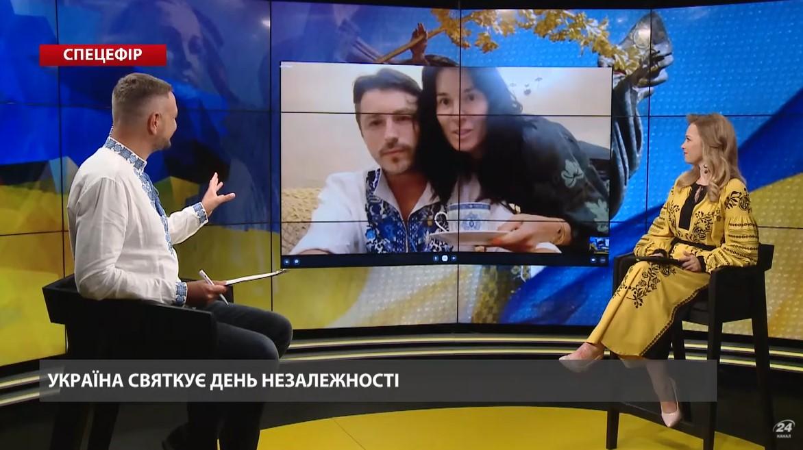 Маша Єфросиніна увірвалась в прямий ефір до Сергія Притули