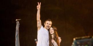 Святослав Вакарчук і Христина Соловій
