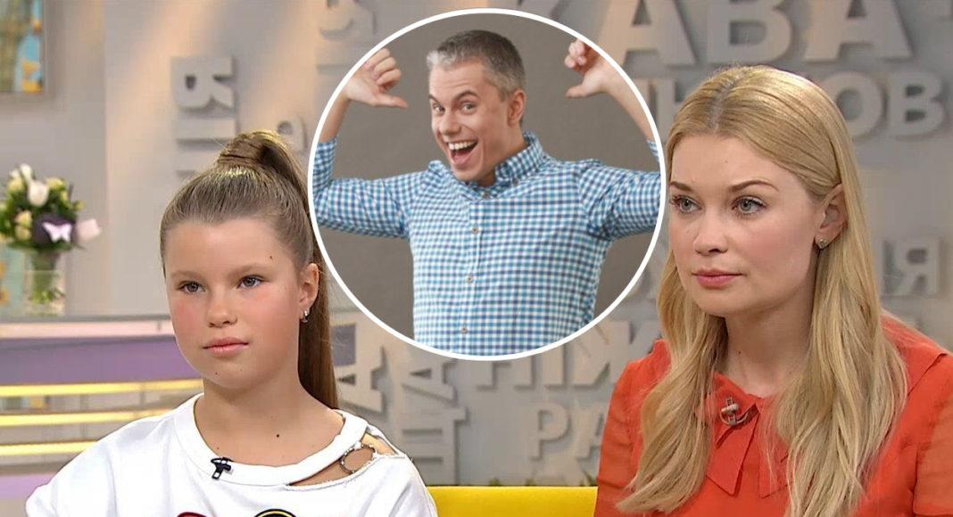 Лідія Таран розповіла, чи спілкується її дочка з батьком Андрієм Доманським