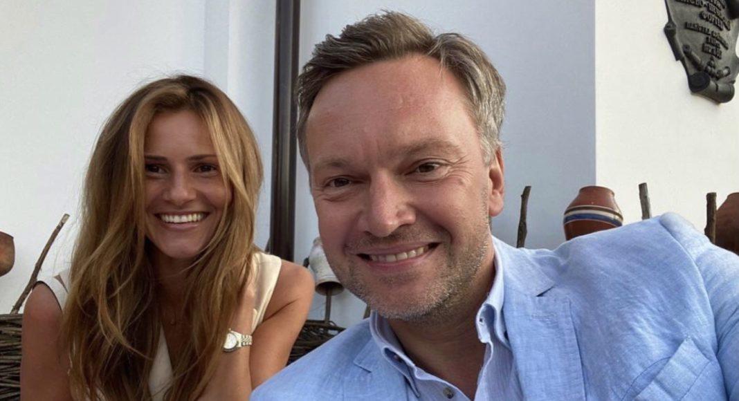 Андрій Данилевич з дружиною