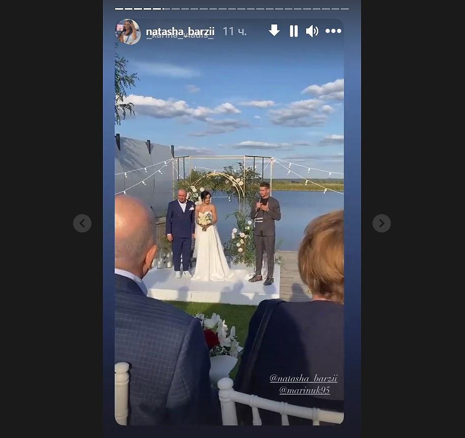 Олександр Еллерт на весіллі