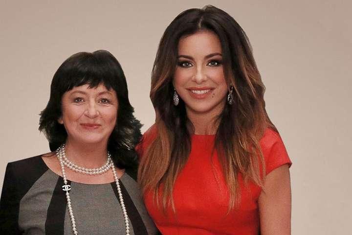 Ані Лорак з мамою