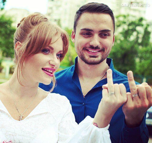 Весільне фото Камінських