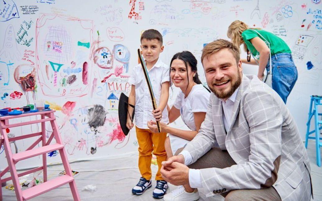 Людмила Барбір з сином