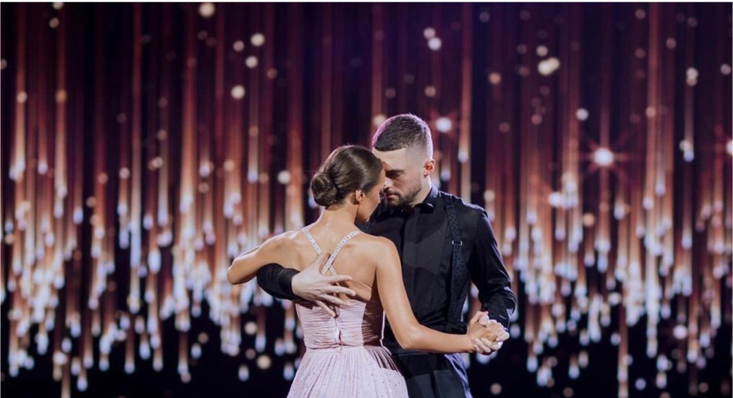 Кадр з шоу Танці з зірками