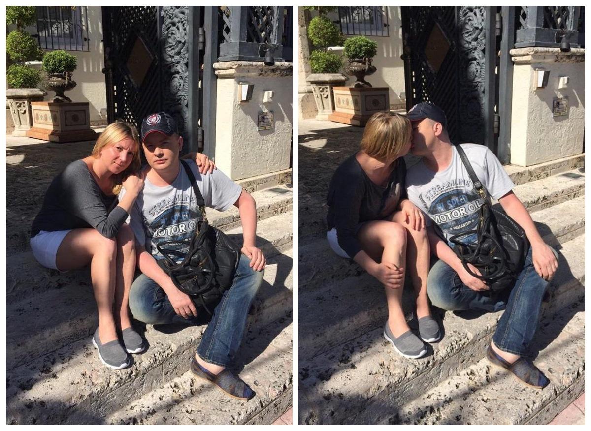 Інна Білоконь і Андрій Данилко поцілувалися