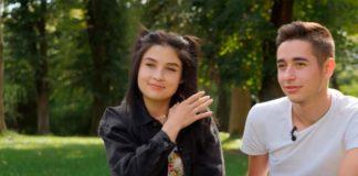 Роман Сасанчин з дівчиною Іванною