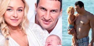 Колишня дружина Володимира Кличка залишила доньку на батька