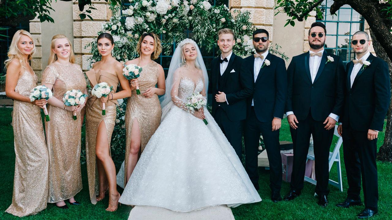 Весілля Аліни Гросу та Олександра Комкова