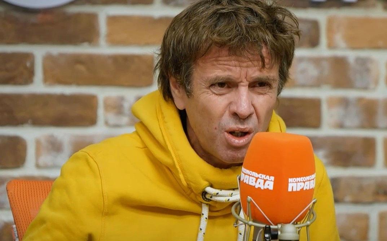 Андрій Губін на інтерв'ю для радіо КП