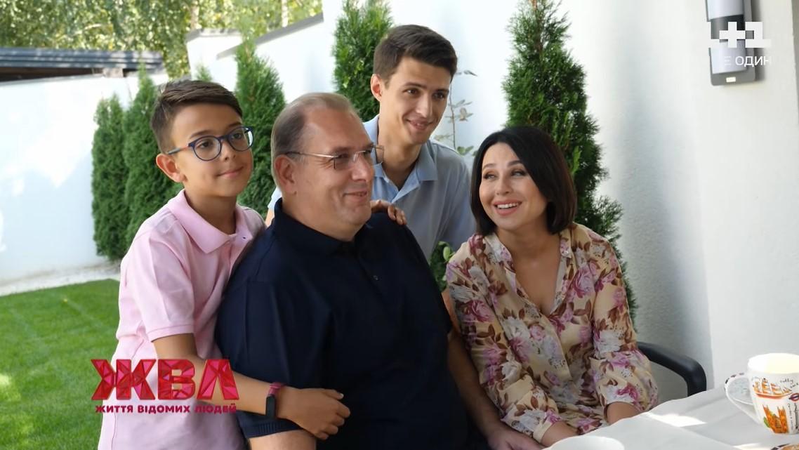 Родина Наталії Мосейчук