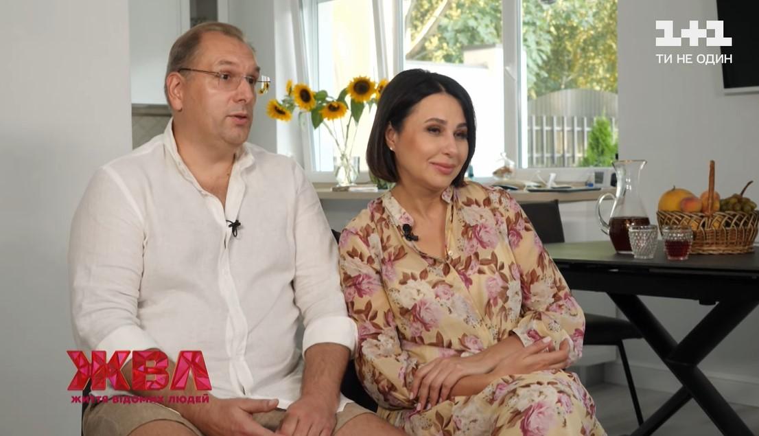 Наталія Мосейчук зі своїм чоловіком у програмі ЖВЛ