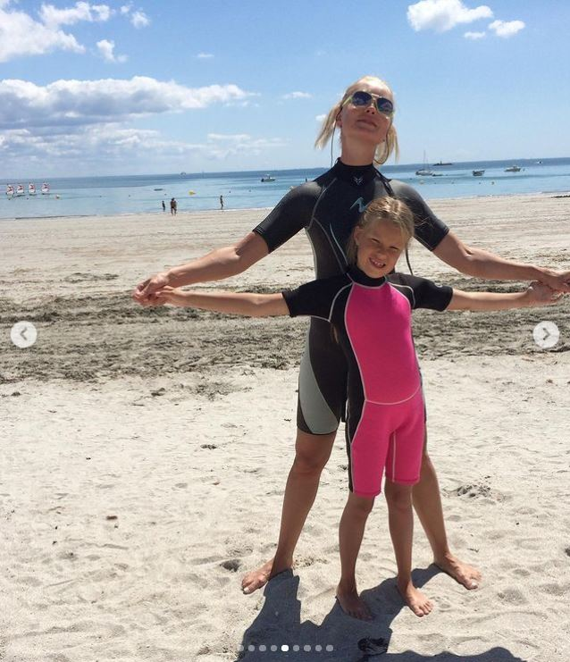 Лідія Таран разом із донькою Василиною