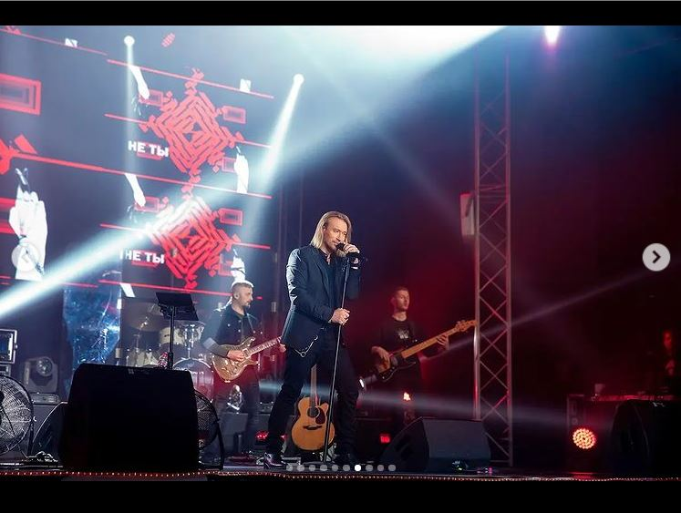 Олег Винник на концерті